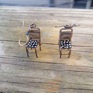 Vintage Chair Earrings